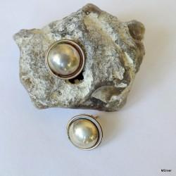 124. Kolczyki srebrne