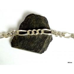 """23. Srebrna bransoleta """"FIGARO"""""""