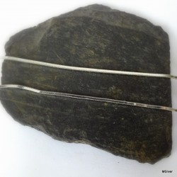 223. Łańcuszek srebrny-żmijka kwadratowa